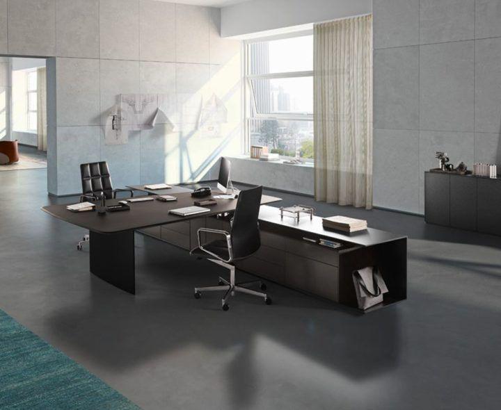 Bureaux Design Mobilier De Bureau Design Pour Professionnel Paris Lyon France Office Table Design Desk Modern Office Design