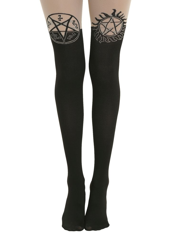 One hell of a pair of tights for Supernatural fans.