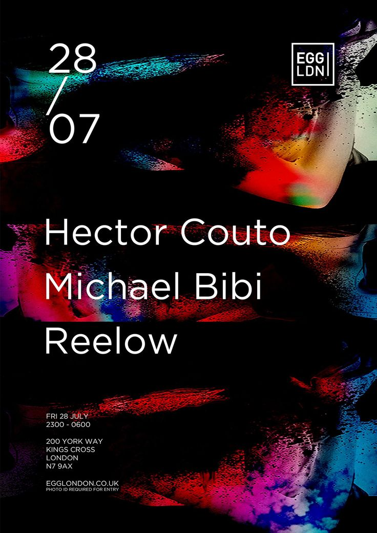 Egg Presents Hector Couto, Michael Bibi, Reelow: Bringing together two of Ibiza's hottest talents for summer 2017 Egg Presents…welcomes…
