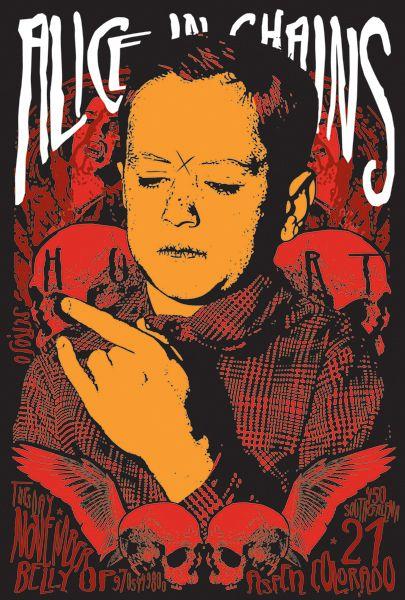 Alice In Chains - possible album for task flow feature Leia agora os nossos artigos sobre música grunge em http://mundodemusicas.com/category/grunge/