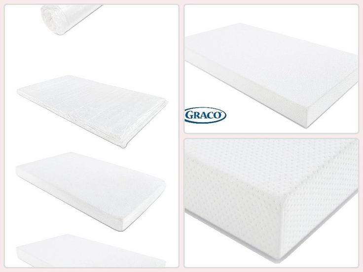 Graco Premium Foam Crib And Toddler Bed Mattress Boys Girls Bedroom Accessories #mattress #kidsroom
