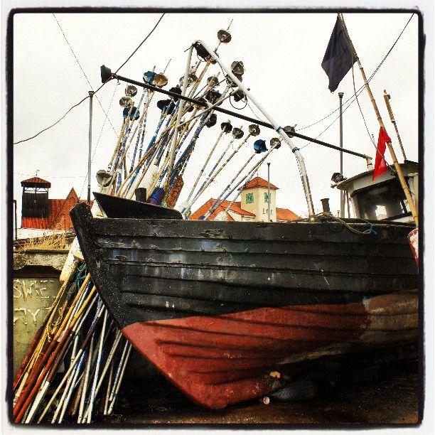 Port Hel, Koga, stara drewniana łódź rybacka, port rybacki, Półwysep Helski, Bałtyk, Ludzie Morza, Photo by http://marynistyka.pl