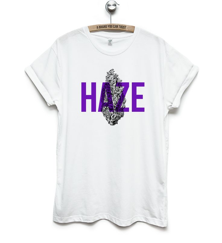 Mens Printed T-Shirts – KANE GREY - Haze T-shirt with rolled up sleeves in  – a unique product by KaneGrey on DaWanda