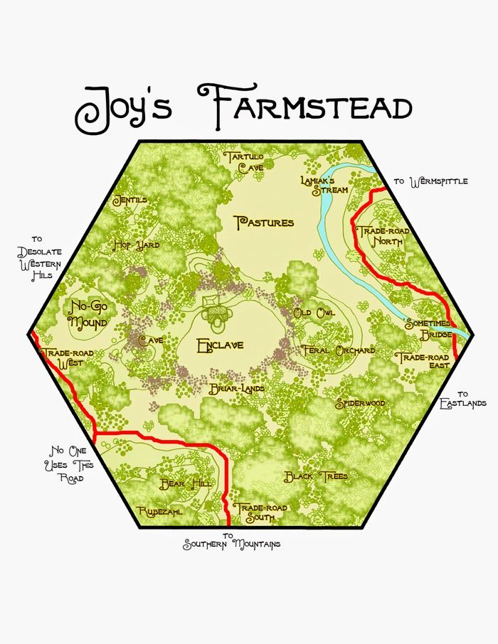 Hereticwerks: Map: Joy's Farmstead