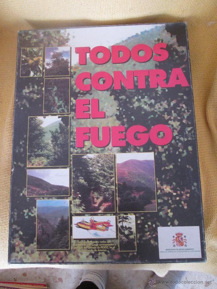 Juego de mesa TODOS CONTRA EL FUEGO - 1987