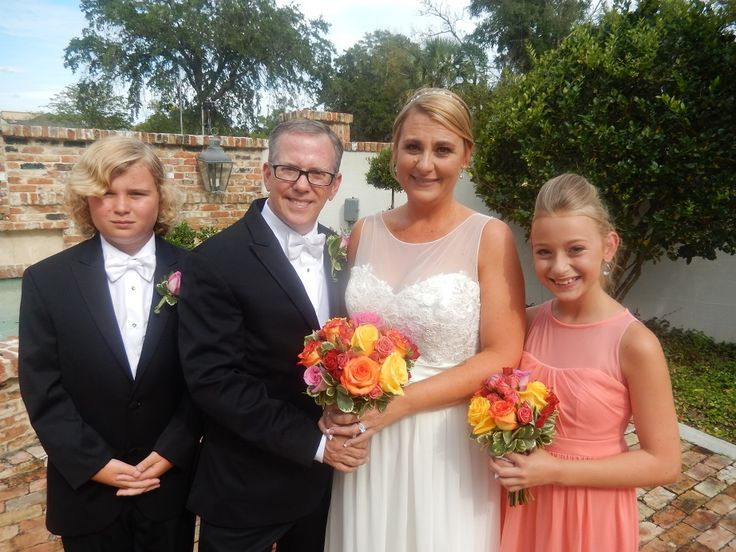 I Officiated The Wedding Of Paul Koch And Tracey Thomas At Winter Park Chapel