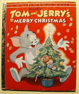 tom & jerry merry christmas book - Google Search