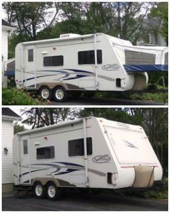 Roulotte Hybride 2005 ( Trail Cruiser)