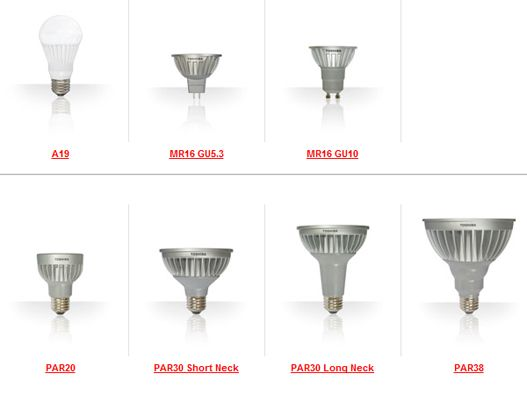 Vintage Toshiba us New LED Lineup Offers Up a Huge Selection of Lighting Solutions
