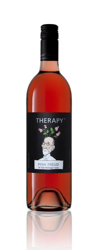 Popcorn and therapy from the Okanagan. Another therapy wine. PD