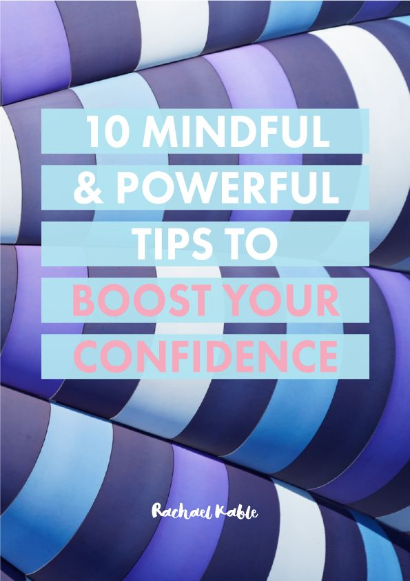 Discover 10 mindful and powerful tips for boosting your confidence and self-esteem, including being your own biggest cheerleader and using confidence tokens!