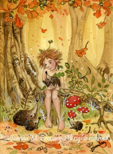 ✯ Hedgehogs' Autumn Tale .. By *JoannaBromley*✯