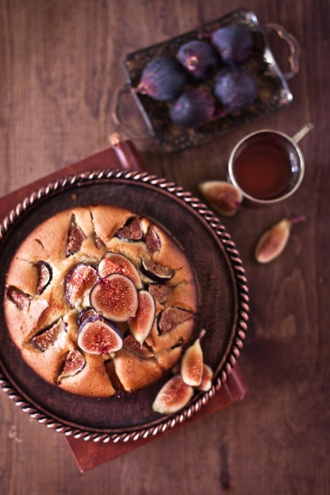 .Figs Pies, Figs Cake, Plays Cooking, Cake Recipe, Teas Time, Sweets Cake, Figs Lovers, Birthday Cake, Honey Figs