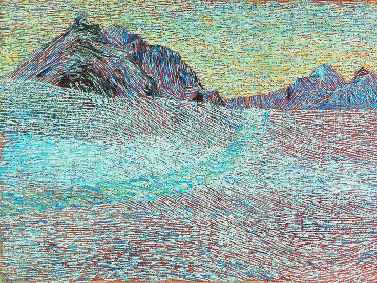 Mountain Landscape (Giovanni Segantini)