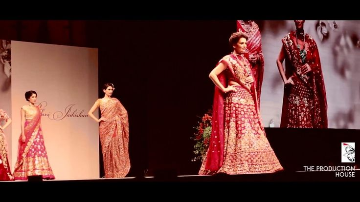Couture Designer Pallavi Jaikishan show choreographed by Shy Kalra  in M...