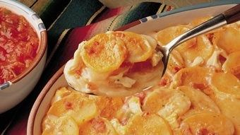 Creamy Scalloped Potatoes recipe from Betty Crocker