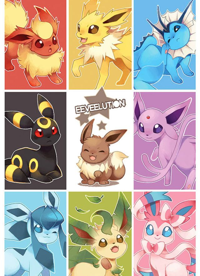 Last but not least: Fave Eeveelution?