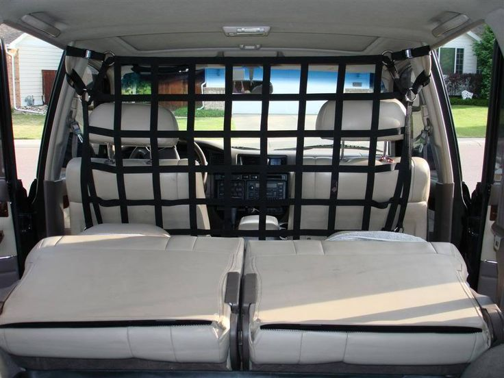1980 - 1997 Toyota 60 & 80 Series, 1995 - 1997 Lexus LX 450 (80 series) and Land Cruiser Cygnus front or rear barrier net