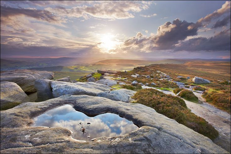 Wouldn't you like to be here in the Peak District?