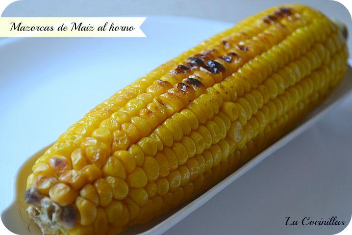 Las Mazorcas de Maíz horneadas con mantequilla, nos encanta, pero siempre las he comprado ya cocidas, solo para calentarlas un par de m...