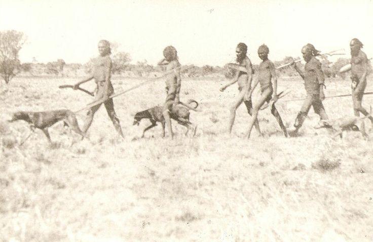 Australian Aborigines | Australian Aborigine Hunting In Swamp Tattoo