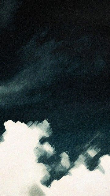 Sky Clouds Watercolor Painting Android Wallpaper