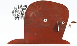 Iron Man: illustrator Laura Carlin takes the grand prix in the world's biggest children's books illustration awards: the Biennial of Illustrations Bratislava (or BIB for short) 2015 with her books The Iron Man and A World of Your Own