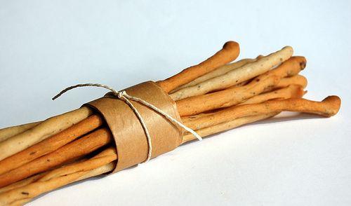 Grissini - Italian Breadsticks. The perfect dipper. #italianbread #breadstick #loaves | donpepino.com