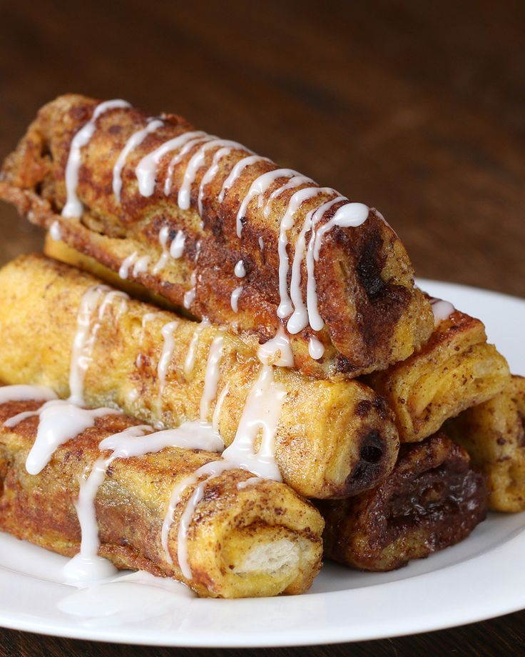 Cinnamon Roll French Toast Roll-Up