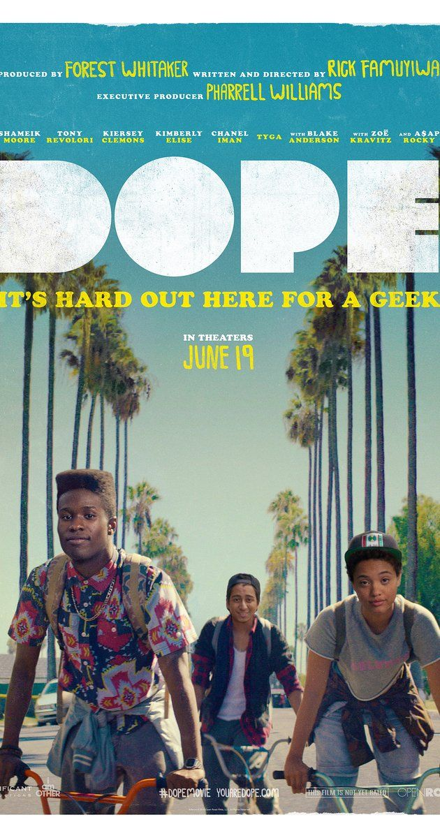 Directed by Rick Famuyiwa.  With Shameik Moore, Tony Revolori, Kiersey Clemons, Kimberly Elise. Life changes for Malcolm, a geek who's surviving life in a tough neighborhood, after a chance invitation to an underground party leads him and his friends into a Los Angeles adventure.