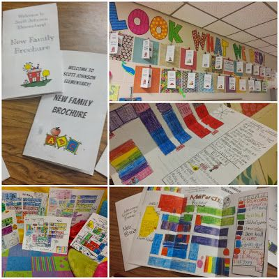 Project Based Learning 3rd grade social studies. New School Brochure -- mapping skills heavy!