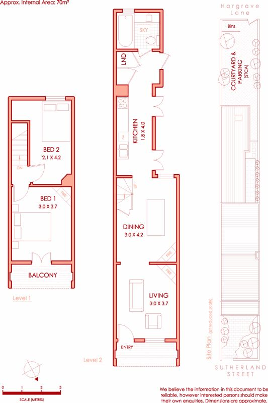 17 mejores ideas sobre planos de vivienda estrecha en for Casas angostas y largas interior