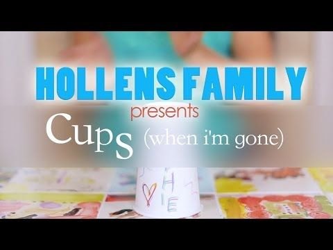 I have been thinking this song has been way too over-covered, but then I saw this one! I love this little girl. Cups - Pitch Perfect Cover Peter Hollens - feat. HollensFamily - YouTube