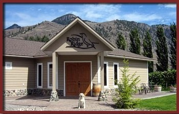 Robin Ridge Winery, located in the Similkameen Valley.
