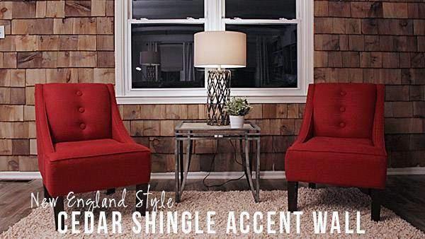 Best Diy Cedar Shingle Accent Wall Knock It Off The Live 400 x 300