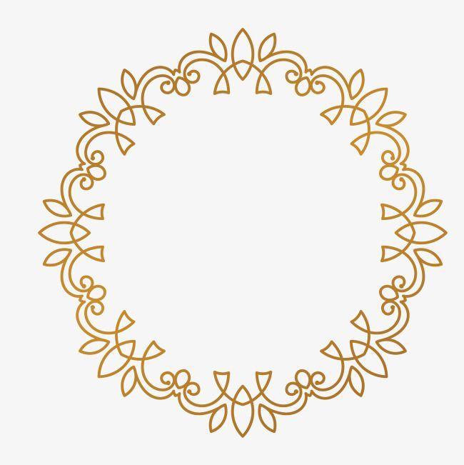 Folha Decorativa Moldura Circular Molduras De Caixas Arabesco Moldura Monogramas Para Casamento