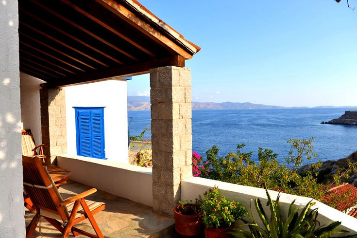Property for sale in Mandraki, Hydra, Greece. A two bedroomed house very close to the sea in Mandraki.