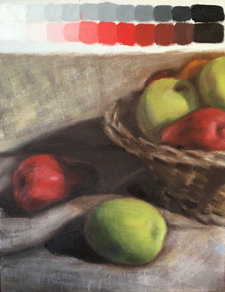 Study #5. 2017. 11 x 14. Oil on Canvas.