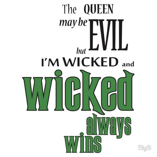 For sale as T-Shirts, Stickers, iPhone Cases, Samsung Galaxy Cases, Throw Pillows, Tote Bags, Kids Clothes, and iPad Cases  wicked, wicked witch, once upon a time, zelena, green, regina, evil queen, wizard of oz, oz, rebecca mader