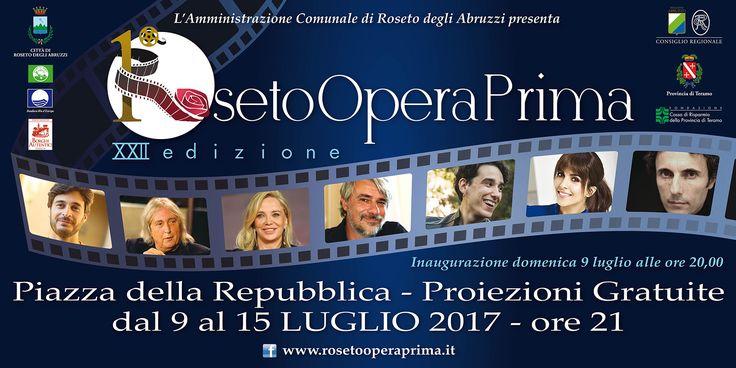 ROSETO OPERA PRIMA *Simona Izzo – Ricky Tognazzi* #eventiteramo #eventabruzzo
