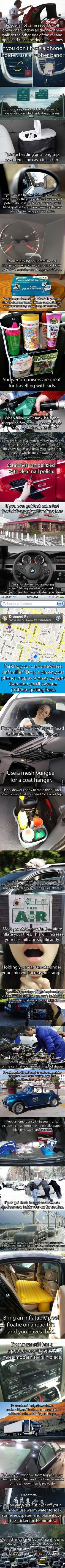 ~ 32 Driving Hacks That Will Make You A Roadtripping Master