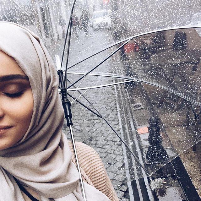 I am sooo happy even if it rains ❤️