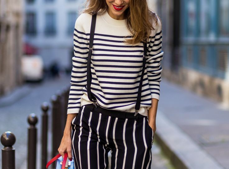 How to do stripes—the French girl way.