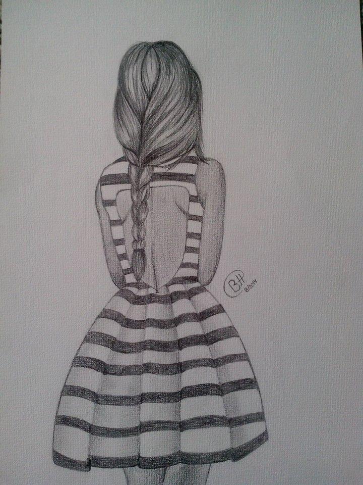 Lone girl.