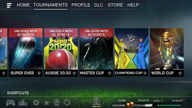 Real Cricket 18 MOD apk free Download Unlimited Money