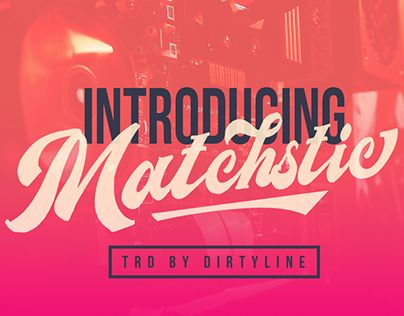 "Check out new work on my @Behance portfolio: ""Matchstic Font!"" http://be.net/gallery/59661793/Matchstic-Font"