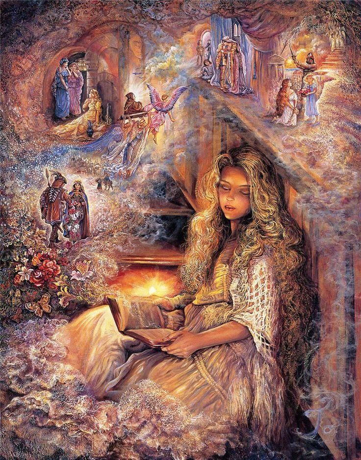 Сказочные картинки жозефина уолл