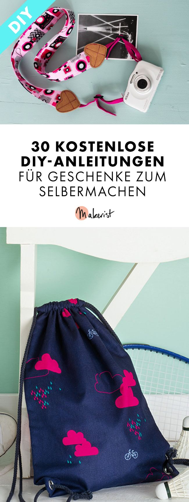 30 free diy instructions for making homemade pin (4)  – Nähen