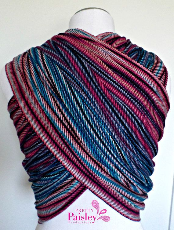 Handwoven Wrap Fairfax 4.6m by PrettyPaisleyBabe on Etsy