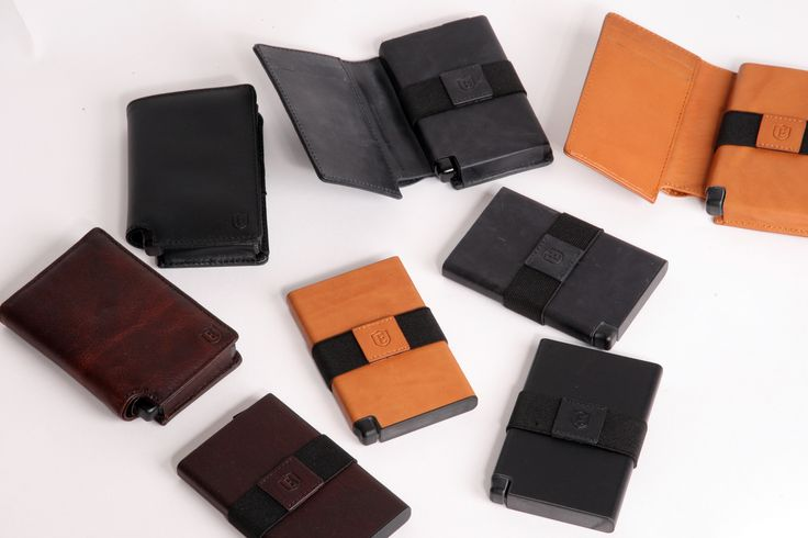 The Ekster Collection - Classy high-end wallets injected with modern tech! #indiegogo